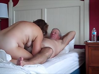 mature couple having sex