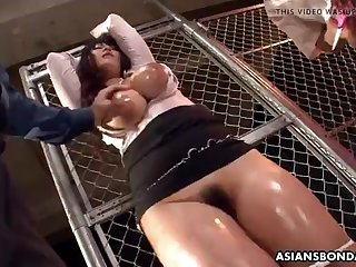 kinky airi ai sucks dicks while kneeling after getting finge