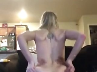 skinny white girl rides big black shaft