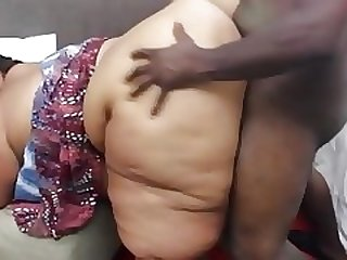 Huge as ssbbw property fucked at the end of one's tether chunky deadly cock